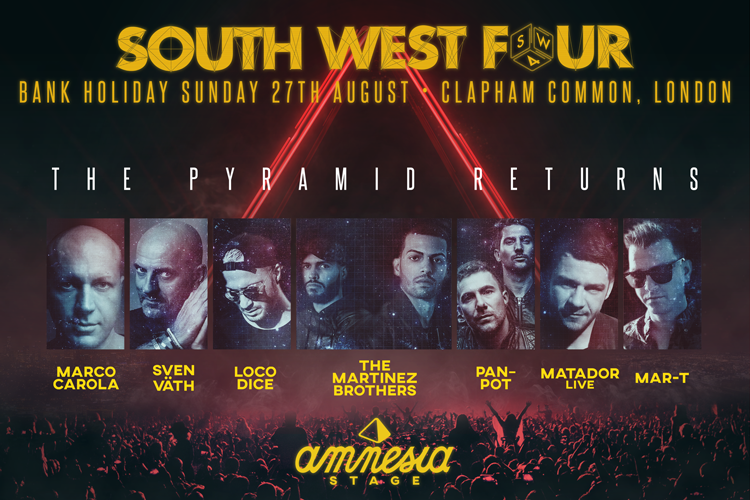 Amnesia stage at SW4