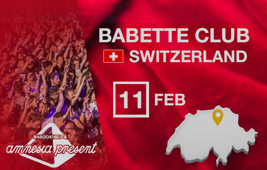 Amnesia Present at Babette Club