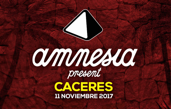 fiesta Amnesia Presents goes to Cáceres