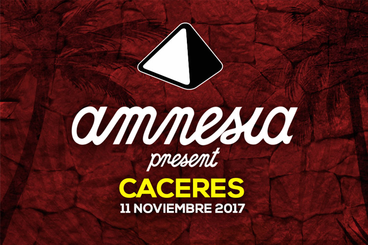 Amnesia Presents goes to Cáceres