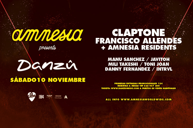Amnesia Presents Mallorca