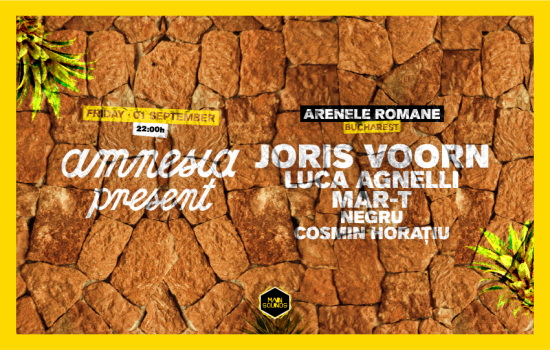 fiesta Amnesia Presents va a Bucharest